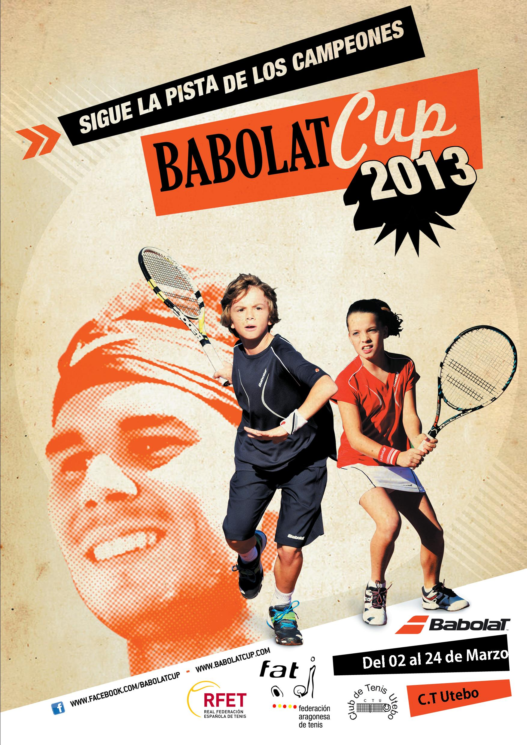 Cartel Babolat Cup 2013 C.T. Utebo